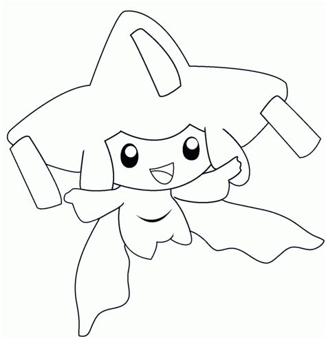 pokemon coloring pages lillipup jirachi pokemon coloring page az coloring pages