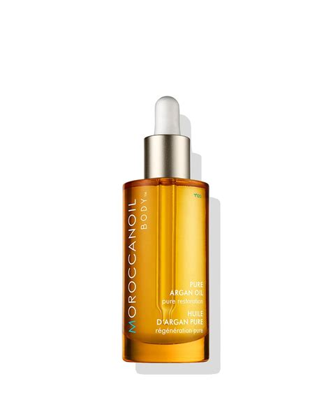 De Argan argan for hair and moroccanoil