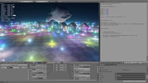 realistic light shading and texture for blender inside rendering 500 real time lights in the blender game engine