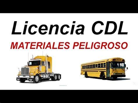 licencia cdl preguntas del examen vehiculos de combinacion cdl en espa 241 ol preguntas respuestas 2018 doovi