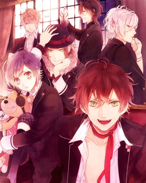 otome games diabolik lovers will be adapted to anime