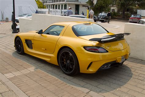 mercedes sls amg black series chassis
