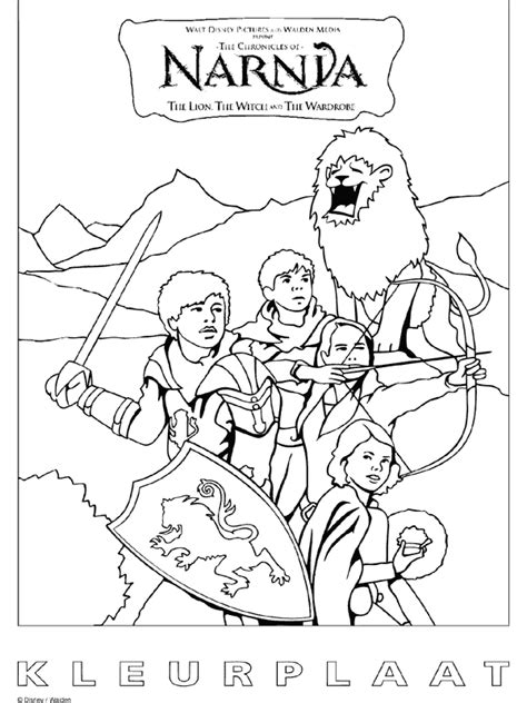 Narnia Coloring Pages Narnia Colouring Pages