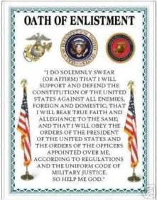 usmc oath of enlistment usmc usmc