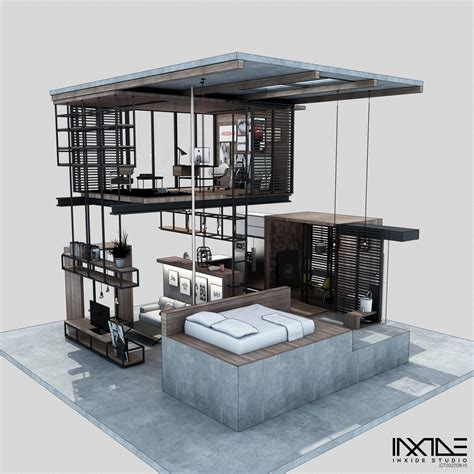 compact design compact modern house made from affordable materials