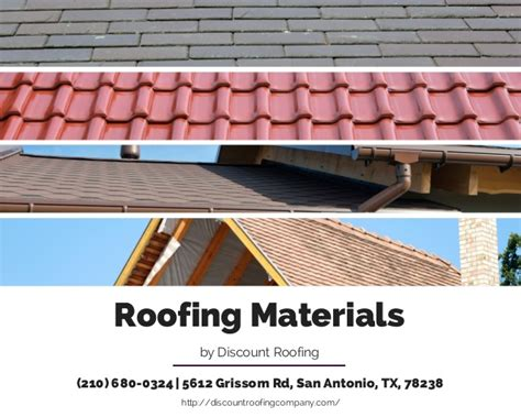Roof Materials Roofing Materials
