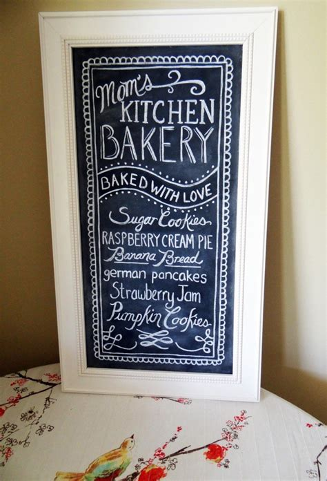 lily val kitchen chalkboards made with love