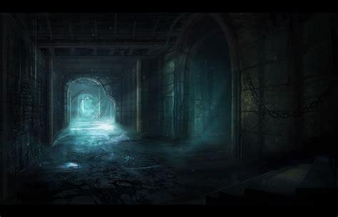 anime dungeon dungeon passage by niltrace deviantart com on deviantart