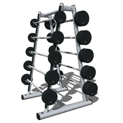 Dumbbell Sport Station Weights Storage Stations 01 3d Model Formfonts 3d Models