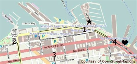 san francisco map of fishermans wharf fishermans wharf san francisco pier 39 alcatraz
