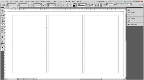 adobe indesign tutorial brochure how to make a brochure in adobe indesign youtube