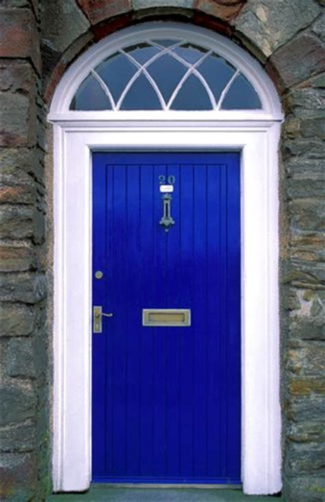 Blue Exterior Door Excited About My Bright Blue Front Door Wish I Knew The Name Of This Color Got The Cobalt