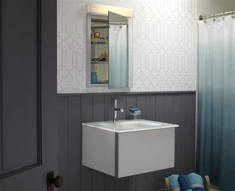 Robern Medicine Cabinet Installation Robern Rc2026d4f R 179 Series 20 Inch Mirrored Bathroom
