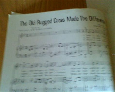 the rugged cross made the difference sheet free sheet the rugged cross made the difference other instruments listia