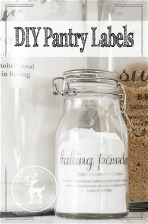 Diy Pantry Labels by Organizing Archives The Vintage Storehouse Company