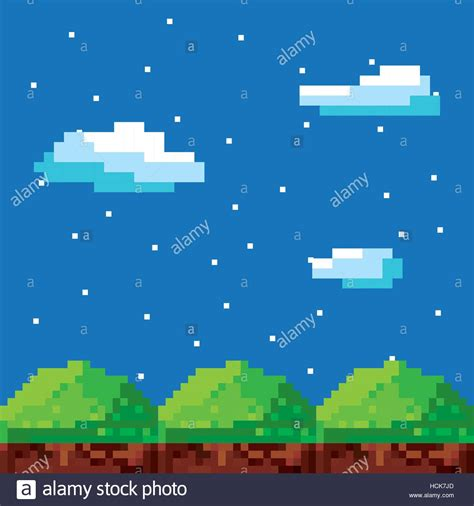 pixelated background pixelated background vector illustration design