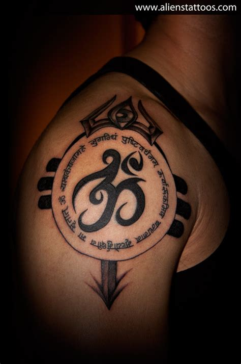 tribal ohm tattoo om designs 151 best designs and om artists