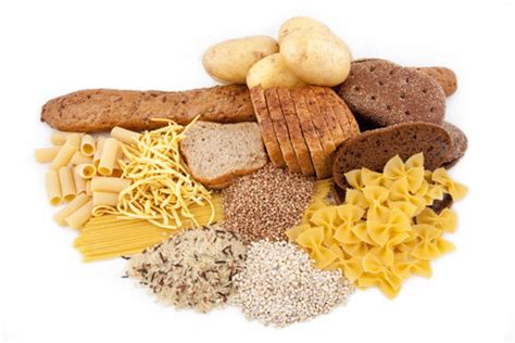 carbohydrates starch what are starchy carbohydrate foods