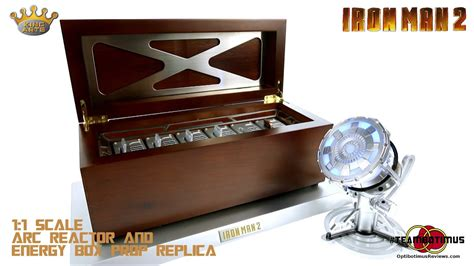 king arts iron man scale energy plate box reactor
