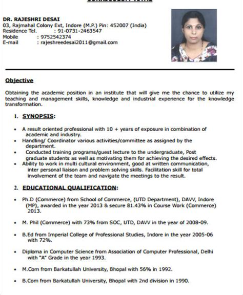 best resume format for computer teachers 40 modern resume templates pdf doc free premium templates