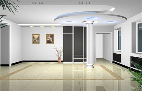 house hall interior hall interior with pillar 3d house free 3d house pictures and wallpaper