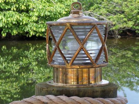 Nautical Outdoor Lighting and Dock Lighting with Coastal Style
