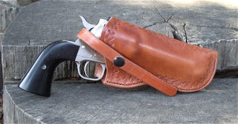 simply rugged cattleman holster shooting with hobie