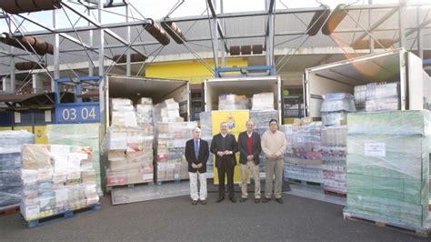 banco de alimentos caritas banco de alimentos y c 193 ritas en la entrega solidaria de la