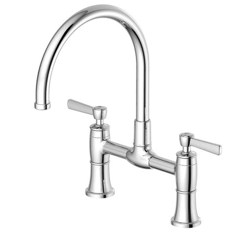 chrome kitchen faucets shop aquasource chrome high arc kitchen faucet at lowes com