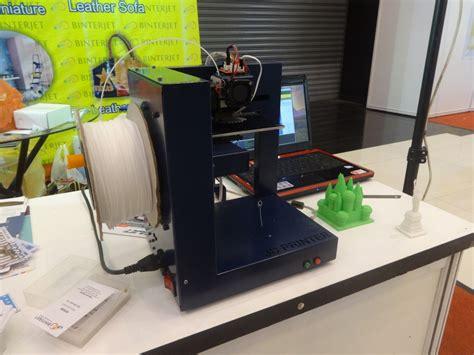 Printer 3d Di Surabaya inilah 3d printer yang muncul di mega bazaar consumer show 2014 id jari all about