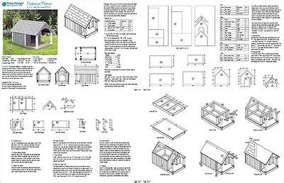 small dog house blueprints 30 quot x 36 quot small dog house plans gable roof style with porch design 90204g 12