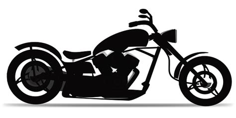chopper motorbike motorcycle  vector graphic  pixabay