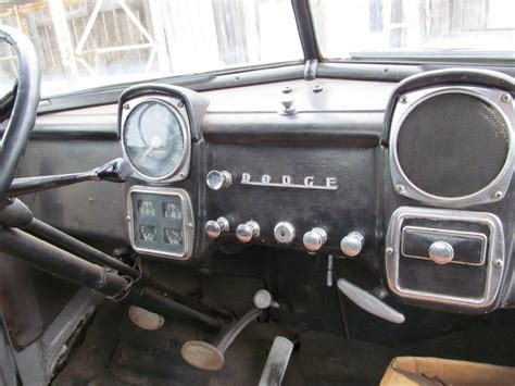 Dodge Interior Truck Parts by Dodge Dodge Truck 1953 For Parts