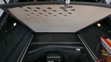 Auto Subwoofer Unterm Sitz by Speaker City Einbaugalerie