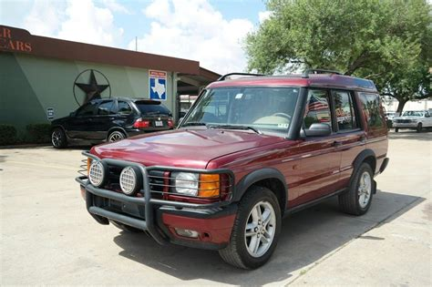 auto body repair training 2000 land rover range rover parental controls 2000 land rover discovery series ii w cloth houston tx 13260872