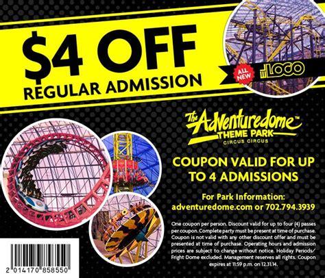 printable vouchers las vegas adventuredome coupons discount tickets discount codes