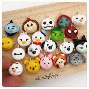 tsum tsum charm polymer clay kawaii choose one by