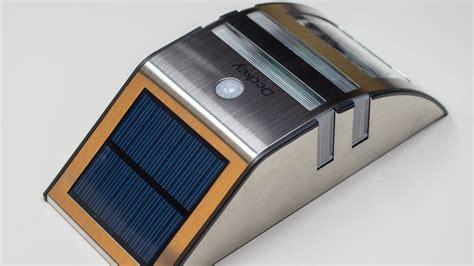 im test deckey led solarleuchte mit bewegungsmelder im test techtest
