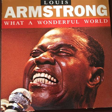 what a wonderful world what a wonderful world by louis armstrong lp with hossana