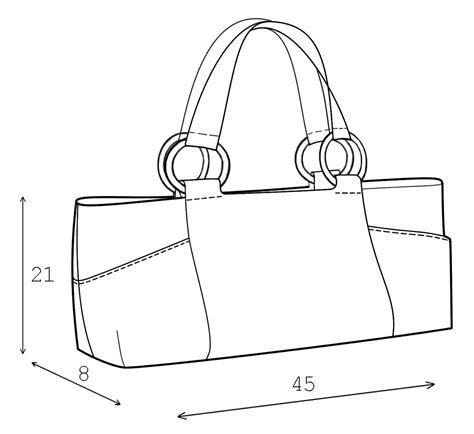 drawing bag pattern bag sewing pattern 3010 made to measure sewing pattern