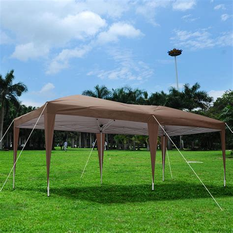 Pop Up Patio Cover by Outdoor Ez Pop Up Wedding Folding Coffee Canopy Tent