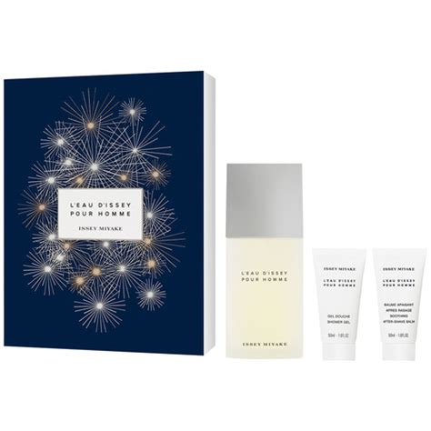 Issey Miyake Leau Dissey Lotion Shower Gel issey miyake l eau d issey pour homme gift set eleven se