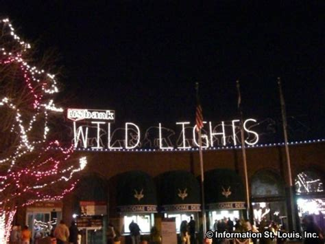 saint louis zoo christmas lights st louis zoo in zip code 63110