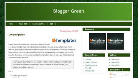 b templates green template btemplates