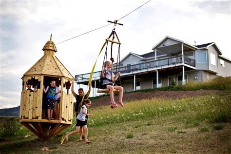 Backyard Zip Line Ideas Backyard Zip Line Ideas Outdoor Furniture Design And Ideas