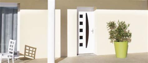 Porte D Entrée Alu Vitrée 2931 by Porte D Entr 233 E Moderne Blanche Urbantrott