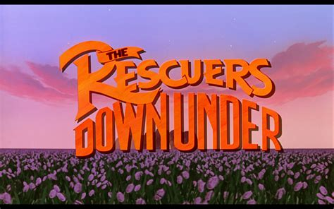 down under once upon a happily ever after the rescuers down under