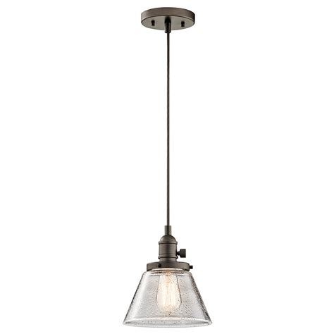 Kichler 43851oz Avery Olde Bronze Mini Hanging Light Kichler Pendant Light Fixtures