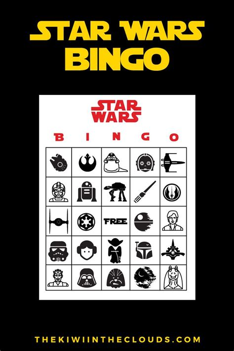 printable lego star wars bingo cards 17 best images about star wars printables on pinterest