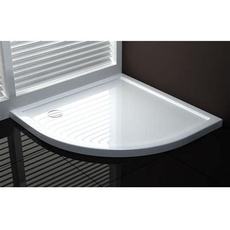piatto doccia semicircolare 80x80 piatto doccia di forma semicircolare colore bianco in
